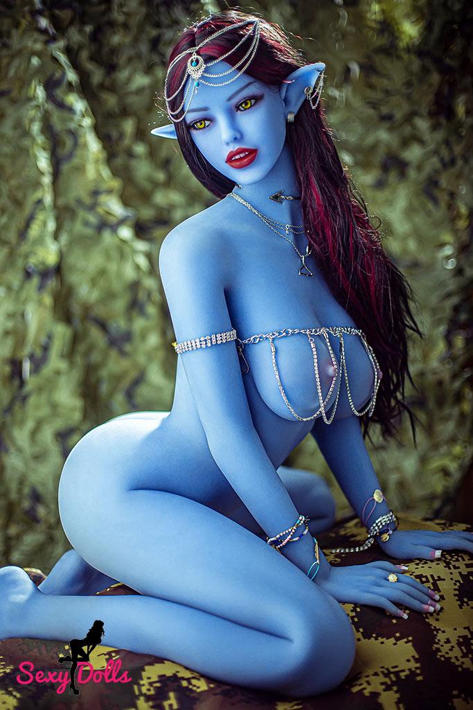 Poupée Sexuelle Bleue Avatar