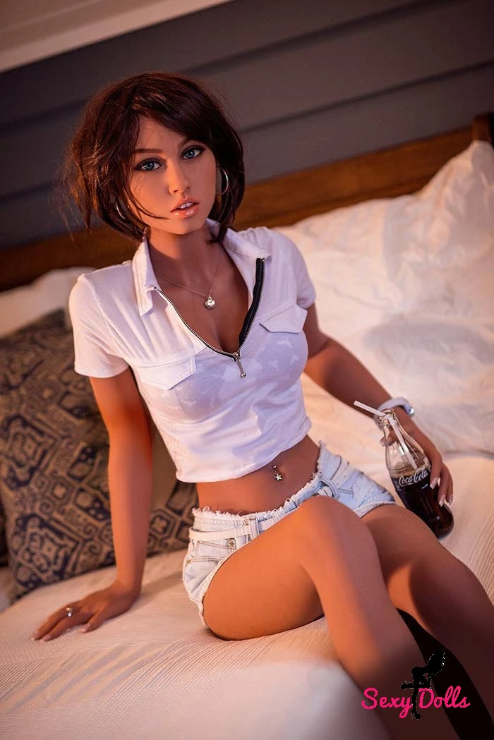 Real Sexdoll Brune